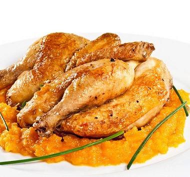 Рецепт Курица всоусе барбекю сабрикосовым джемом