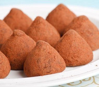 Рецепт Быстрые шоколадно-сливочные трюфели