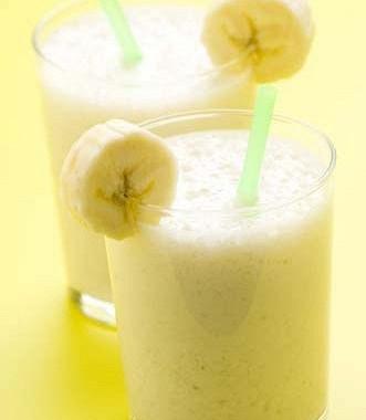Рецепт Молочный банановый коктейль