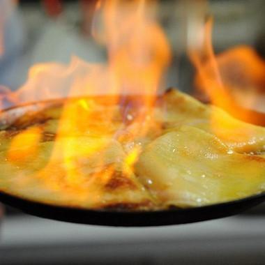 Рецепт Сливочные блины вапельсиновом соусе