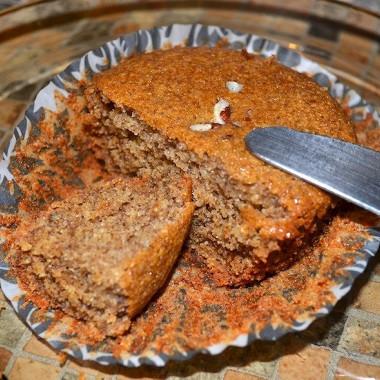 Рецепт Безглютеновые орехово-банановые кексы