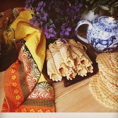 Рецепт Вафельные трубочки