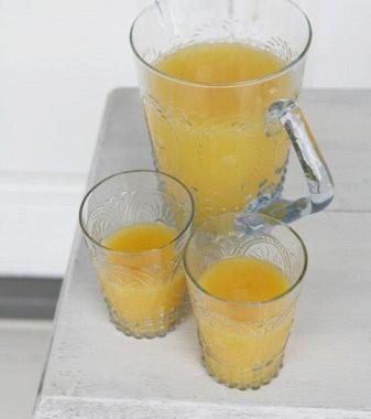 Рецепт Апельсиновый кисель