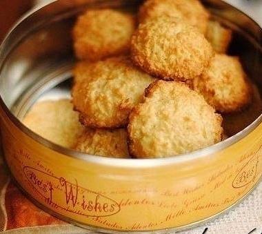 Рецепт Быстрое кокосовое печенье безмуки