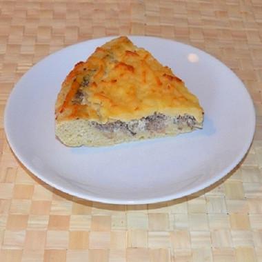 Рецепт Пицца «Сайран» ссайрой, ананасами исоусом сбальзамическим белым уксусом