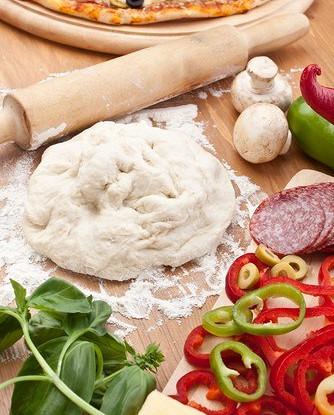 86Тонкое тесто на пиццу пошаговый рецепт