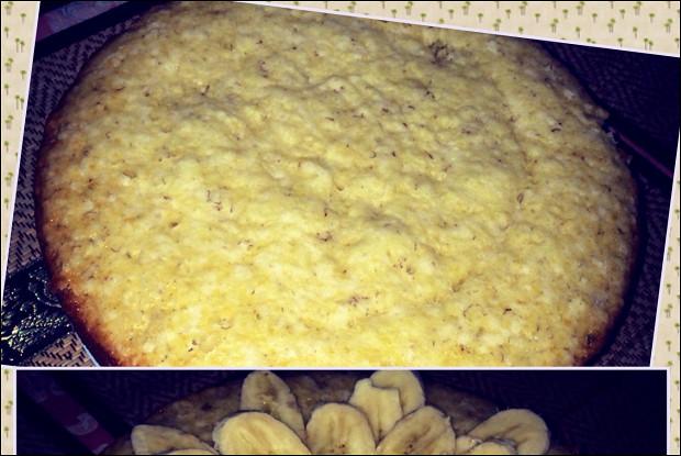 Банановый пирог из слоеного теста - пошаговый рецепт с фото на 45