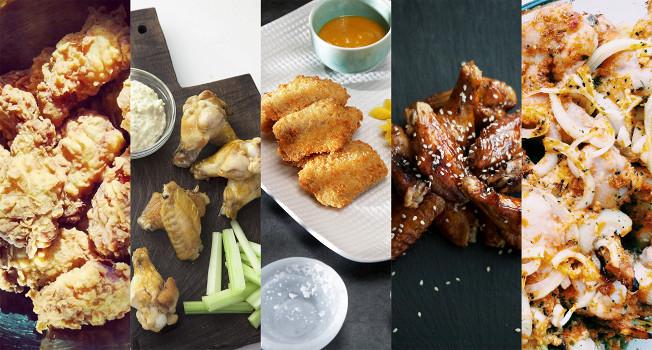 Куриные крылья: 11 рецептов