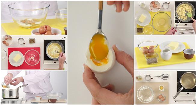 Как готовить яйца?