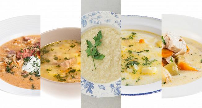 Пять недорогих и сытных супов