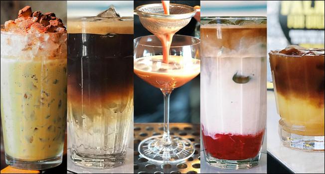 Шесть рецептов холодных кофейных напитков