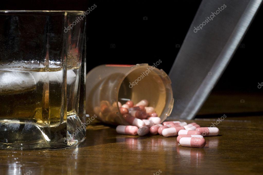 Прерывание запоя таблетками
