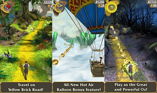 Temple Run OZ - Free download and software reviews