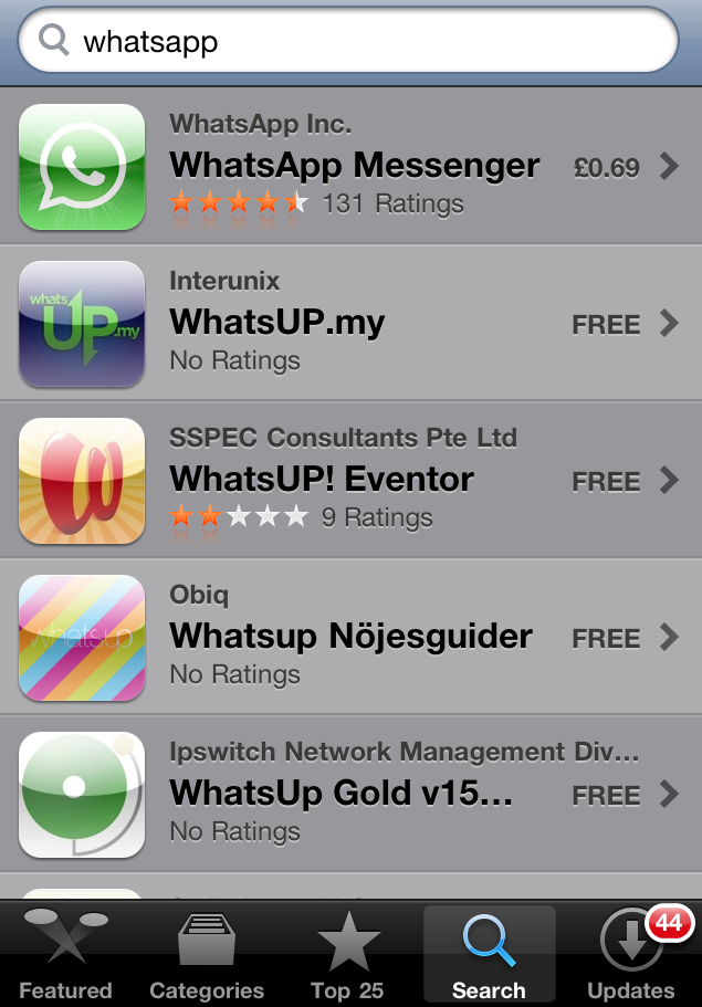 Download WhatsApp Messenger 21722 (Free) for iPhone