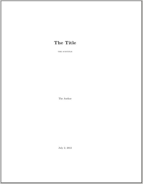 How To Write a Title Page in APA Format - Know More