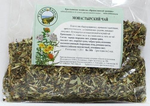 Отзывы об монастырском чае от алкоголизма