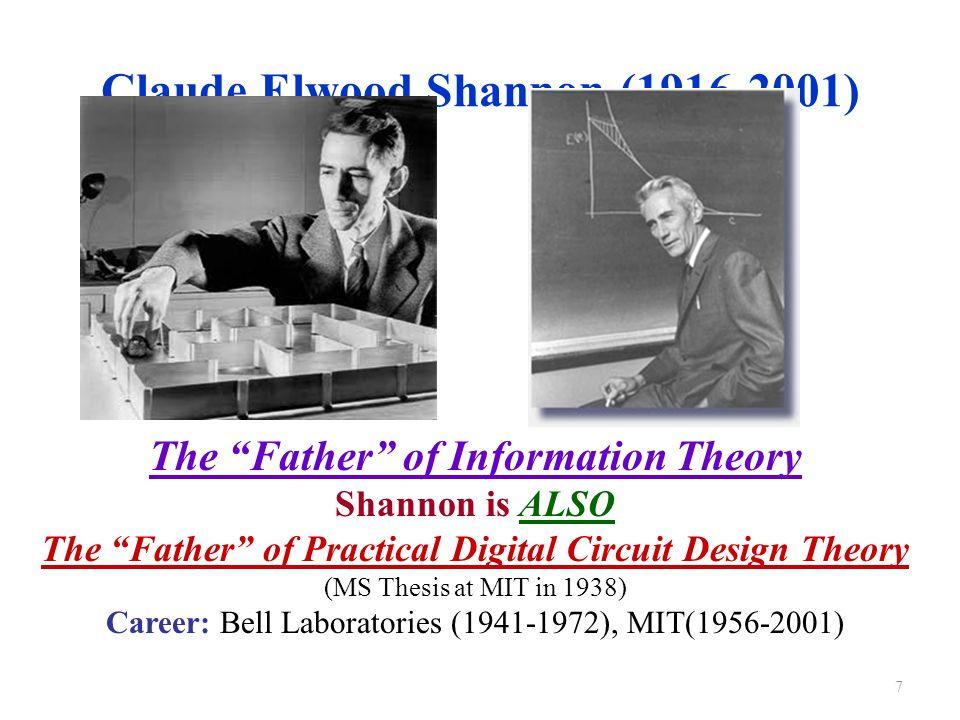 Shannon Centenary - IEEE Information Theory Society