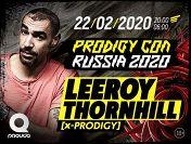 «Prodigy Con Russia 2020»: Лирой Торнхилл