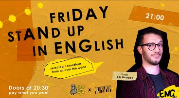 «Friday Stand-up in English»
