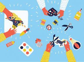 «Пикассо, Бэйби!» Крафтовые мастерские Музея русского импрессионизма