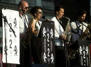 2x2 Sax Quartet и Лина Нова