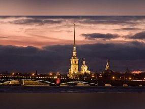 Ночной Петербург с теплоходной прогулкой (6 часов)